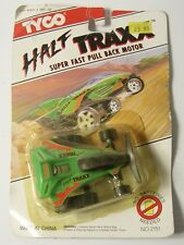 VINTAGE 1992 TYCO DIECAST Half TRAXX Super Fast Pull Back Motor in original box