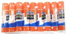 9pc Elmer's WASHABLE ALL PURPOSE CLEAR GLUE STICKS Non Toxic 7g .24oz