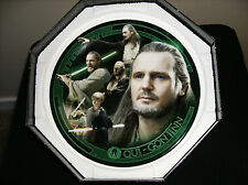 "Star Wars Qui-Gon Jinn Limited Edition UK Collector Plate ""RARE"""
