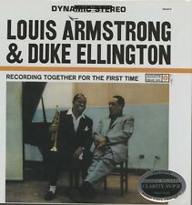 LOUIS ARMSTRONG/DUKE ELLINGTON Recording Together For the First Time CLARITY LP