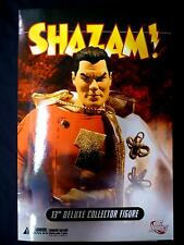 "DC Comics Shazam 13"" Inch Deluxe Boxed Action Figure Doll New from 2007"