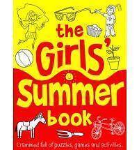 El libro de verano para niñas-actividad Y Libro De Rompecabezas