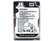 "WD SCORPIPO BLACK HDD HD HARD DISK DISCO RIGIDO SATA 2.5"" 320GB 320 GB 7200 RPM"