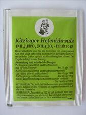 HEFENÄHRSALZ Pulver für die Weinherstellung 10g