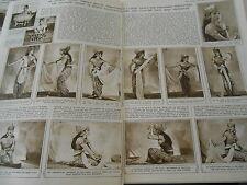 An ancient Hindu temple rituel The Javanese Srimpi 1946 Print Article