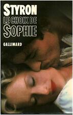 """Livre Roman """" Le Choix de Sophie - Styron William """"  ( Book )  ( No 559 )"""