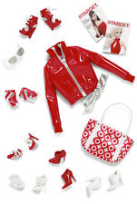 2011 BARBIE BASICS Look No. 02 - Collection Red ACCESSORY PACK #V9319 ~NEW
