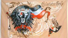 Fahne Flagge Militaria Ein Deutscher Gruß Adler  Deutschland  Neu # 368