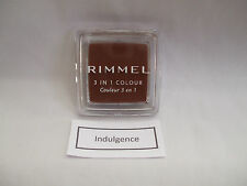 Rimmel 3 In 1 Colour For Eyes Cheeks And Lips Indulgence New