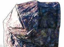 GDK 2 MAN HIDE OUT,CAMOUFLAGE,LEAF,SHOOTING TENT,POP UP FOLDING SEAT, STALKING