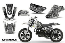 YAMAHA PW50 CREATORX GRAPHICS KIT DECALS SPIDERX WHITE