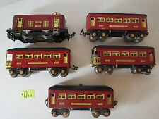Lionel Trains 248 Electric Pre War 1927-1932 With 4 Cars   O Gauge