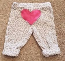 CARTER'S NEWBORN ANIMAL PRINT HEART LEGGINGS/PANTS ADORABLE REBORN