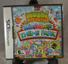Moshi Monsters Moshlings Theme Park Nintendo DS Video game New Factory Sealed