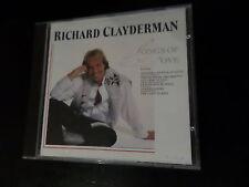 CD ALBUM - RICHARD CLAYDERMAN - SONGS OF LOVE