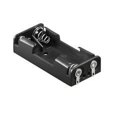 S687 - 2 Stück Batteriehalter 2x Micro AAA Batterie Batteriefach offen Lötanschl