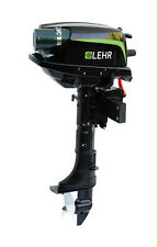 Lehr LP5.0S Propane-Powered Outboard Boat Motor 5 HP Short Shaft New