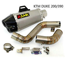 KTM DUKE 200/390 Motorcycle Exhaust Pipe Muffler Modified Exhaust Pipe