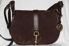 NWT Michael Kors Jamie 30H5TJXS3S Coffee LG Saddle Lether Bag