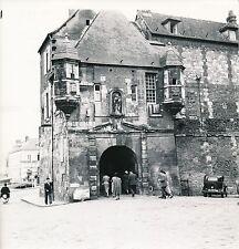 HONFLEUR c. 1950 - Statue de La Vierge et Tourelles d'Angle  Calvados - DIV 5299