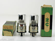 Matched Pair NOS NIB Hicock Tested Vintage National Union 6SQ7GT Tubes BP