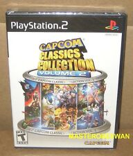 PS2 Capcom Classics Collection Vol. 2 New Sealed (Sony PlayStation 2, 2006)
