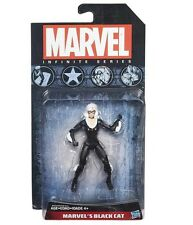 "MARVEL INFINITE FIGURE BLACK CAT HASBRO "" NUEVA "" NEW & SEALED"