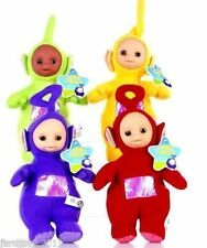 Lot 4 pcs Teletubbies Laa-Laa Po Tinky Winky Dipsy Soft Plush Toy Doll