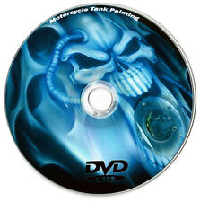 Learn How To Custom Paint Your Motorcycle Tank Airbrush DVD