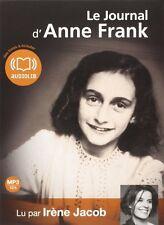 PO/38709//LE JOURNAL D'ANNE FRANK LIVRE AUDIO CD MP3 NEUF SOUS BLISTER 12H00