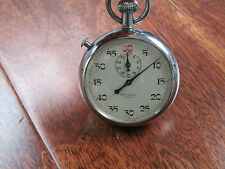Vtg Apollo Stop Watch 7 Jewels Stopwatch Needs Repair For Parts