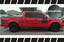 F150 Solid Side Body Hockey Graphics Decals Stripes Ford customize