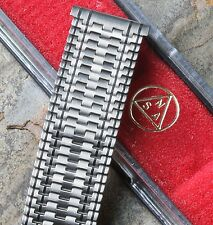 Special pattern NSA vintage watch band 18mm 19mm or 20mm ends Swiss 1960/70s NOS