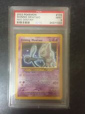 PSA 9 Mint Shining Mewtwo Holo 109/105 Neo Destiny 2002 Pokemon Card!
