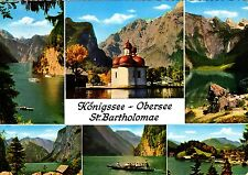 Königssee - Obersee , St. Bartholomae ,Ansichtskarte,19?? gelaufen
