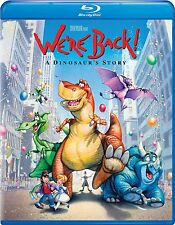 We're Back: A Dinosaur's Story (1993 Spielberg) -  Blu Ray - Sealed Region free