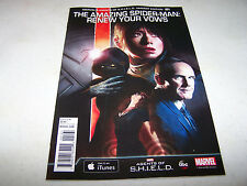 SECRET WARS AMAZING SPIDER-MAN RENEW YOUR VOWS #1 AGENTS OF SHIELD VARIANT