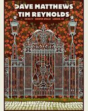 DAVE MATTHEWS TIM REYNOLDS 3/20/17 LONDON ENGLAND POSTER EVENTIM APOLLO BAND DMB