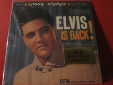 "DCC LPZ-2037 ELVIS PRESLEY "" ELVIS IS BACK! "" (PURE ANALOGUE LP/FACTORY SEALED)"