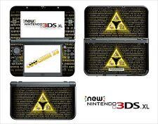 SKIN STICKER - NINTENDO NEW 3DS XL - REF 172 ZELDA