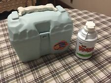 Vintage Flintstones Plastic Lunch Box And Drink Holder by Thermos - 1994