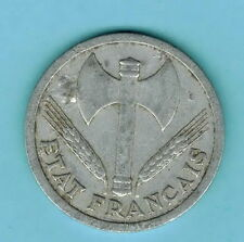 FRANCE coin 1943 - 2 FRANCS- VICHY FRENCH STATE -