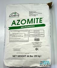 44 Pound AZOMITE Volcanic Ash Rock Dust Powder -67 Trace Minerals - Original Bag
