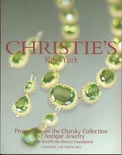 CHRISTIE'S ANTIQUE JEWELRY Charsky Collection Fob Seals Auction Catalog 2003