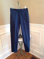 NWT Theory $180 Uniform Navy Fostered Ibbey C Cropped Pants Size 2