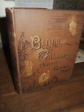 1883  BIBLE GALLERY ILLUSTRATED BY GUSTAVE DORE