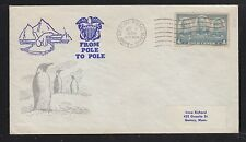 USA 1958 SEA LIFT FOR SECURITY FROM POLE TO POLE ARCTIC AIR FORCE SIGNED COVER