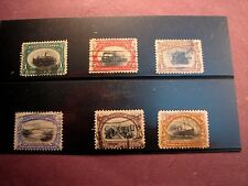 US Stamp Scott# 294-299 Pan-American Exposition Issue 1901 C252