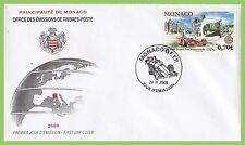 Monaco 2009 Centenary of First Formula I Grand Prix First Day Cover
