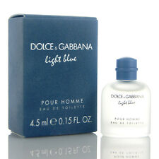 Miniature DOLCE&GABBANA Light Blue Pour Homme 4.5ml,Eau de Toilette Collectible